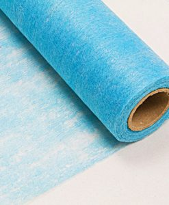chemin de table turquoise