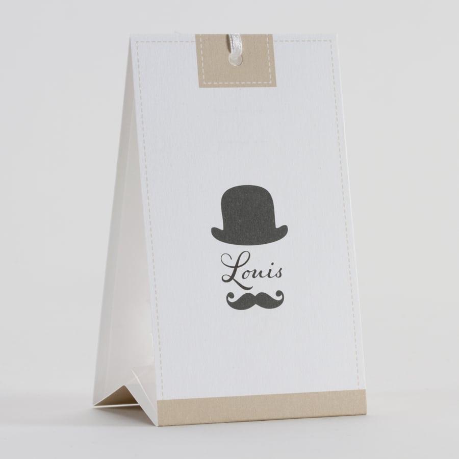 lot de 2 boites drag es moustache personnalisable la. Black Bedroom Furniture Sets. Home Design Ideas