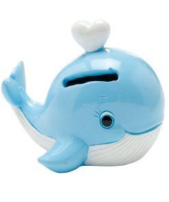 tirelire baleine dragees theme mer bapteme