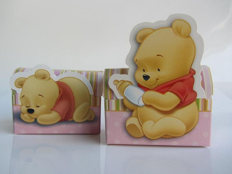Lot de 2 boites à dragées Winnie l'ourson - La Boite à Dragées