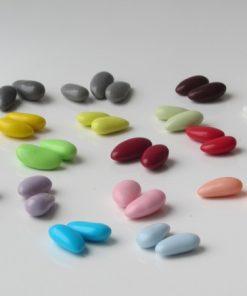 dragées amande de couleur