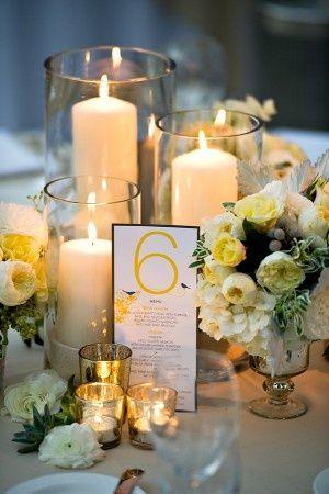 bougies centre de table