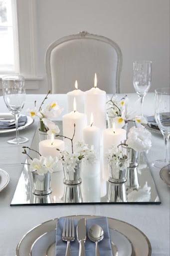 D coration de table mariage archives la boite drag es - Decoration table noel pas cher ...
