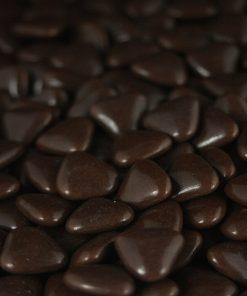 dragées mini coeur chocolat