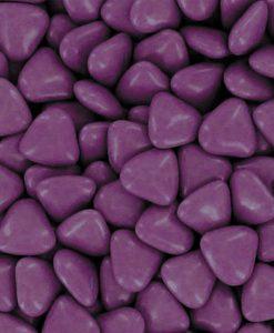 dragees coeur violet