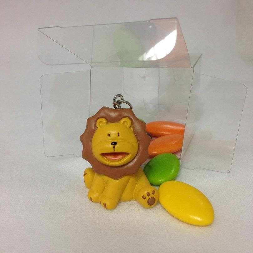 Bapt me th me jungle porte cl s avec boite cube la boite drag es - Porte photo bapteme garcon ...