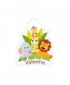 Stickers theme jungle