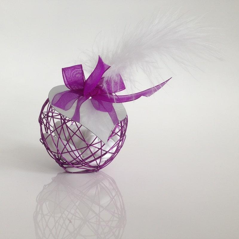 Decoration Boule Avec Plume