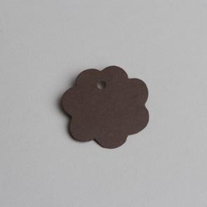 etiquette fleur chocolat