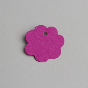 etiquette fleur fuchsia