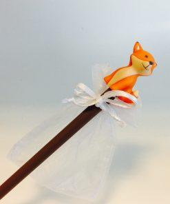 crayon renard dragées bapteme