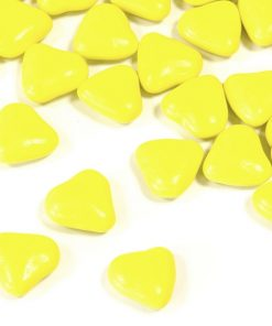 Dragees coeur jaune