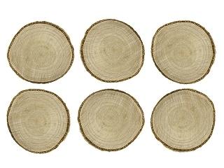 marque place mariage champ tre rondin de bois. Black Bedroom Furniture Sets. Home Design Ideas