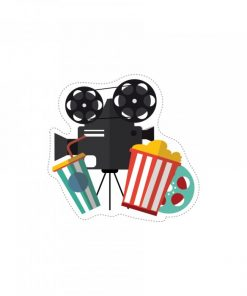 Stickers thème cinéma