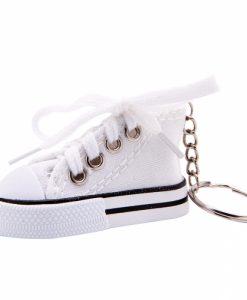 porte cles basket blanche