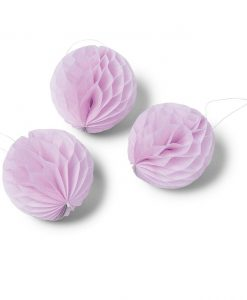 Boule alvéolé rose