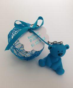 8eb34c0677325 Ce produit est dans votre wishlist Parcourir la wishlist · dragées baptême  garcon ourson turquoise