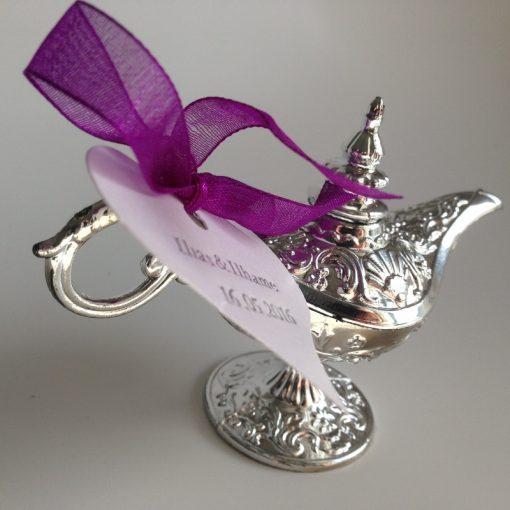 Dragées mariage oriental - lampe d'aladin