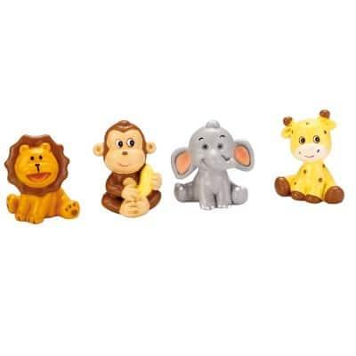 Drag es bapteme theme jungle porte cl s - Decoration animaux de la jungle ...
