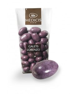 Dragées violet
