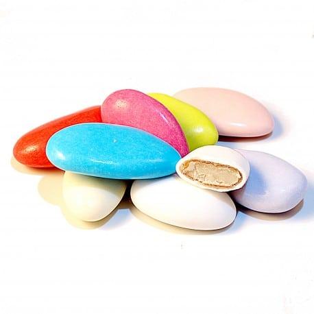 Dragées avola couleur