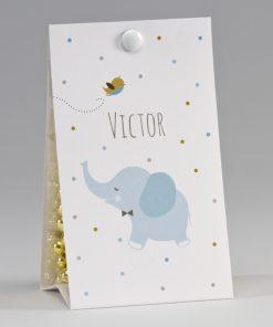 dragées elephant bapteme naissance