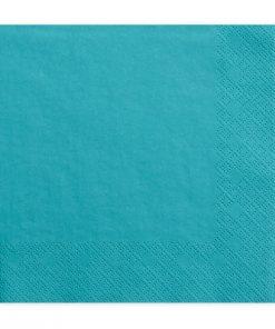 Serviette bleu turquoise