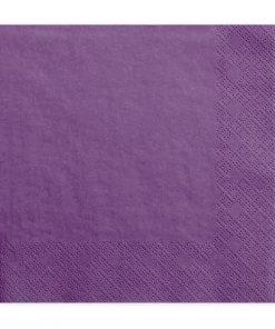 serviette papier violet