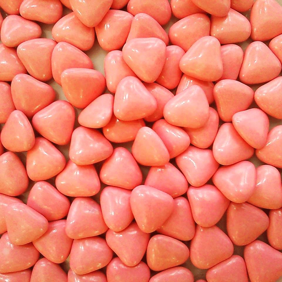 Comment Faire La Couleur Saumon dragées cœur - pêche/corail - 500 gr