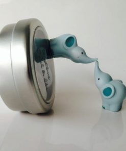 boite a dragees elephant bleu