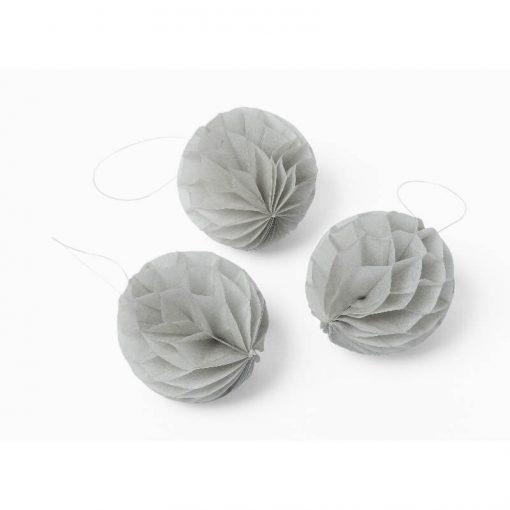 boules alvéolées grises cm