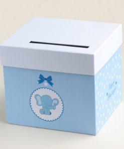 urne éléphant bleu
