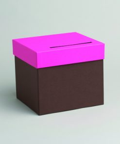 urne chocolat fuchsia