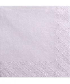 serviette papier rose pâle