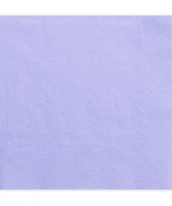 serviette papier parme