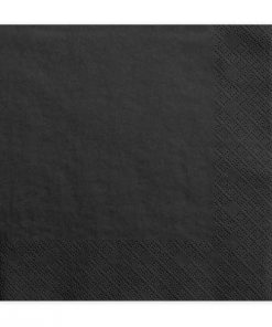 serviette noir