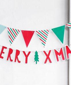 """Guirlande """"Merry Xmas"""""""