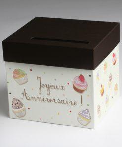 urne anniversaire cupcakes