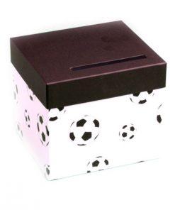 urne football blanc