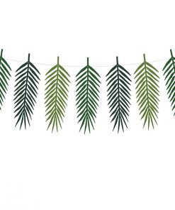 guirlande feuilles tropicales