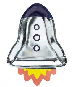assiette fusée