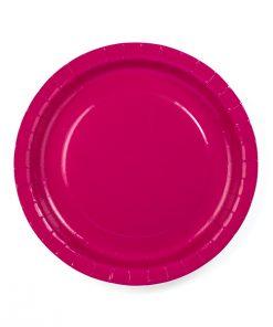 assiette fuchsia