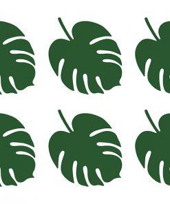 feuilles décoratives -aloha