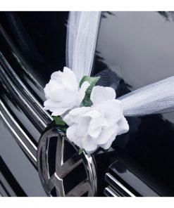guirlande déco voiture mariage