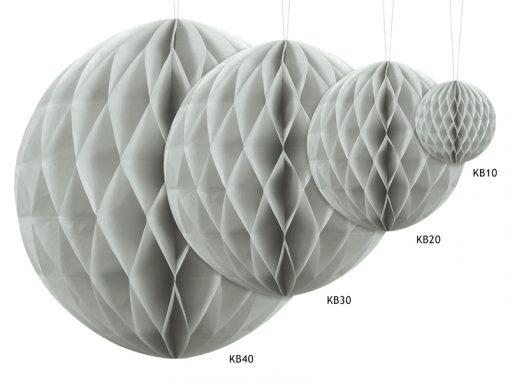 boules alvéolées gris