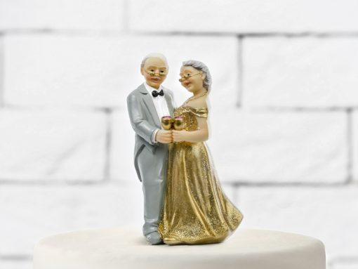 figurine mariage- noces d'or