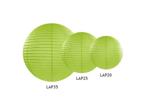 lampions-boules chinoises-vert anis