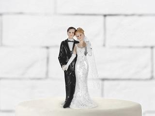 figurine mariage-main dans la main