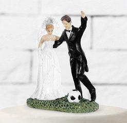figurine mariage-foot