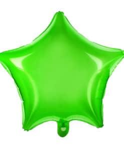 ballon etoile vert anis